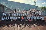 Jablonecký atletický stadion na Střelnici konečně ožil závodní atmosférou.