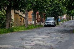 Jablonecká ulice V Aleji.