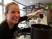 Euroregion Tour 2017, soutěž regionálních výrobců. 3. MÍSTO získala za svou skvěle namíchanou směs kávy Zina Černá.