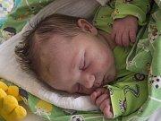 MATĚJ DLABOLA se narodil v pondělí 1. května  mamince Kláře Dlabolové z Liberce. Měřil 51 cm a vážil 4,10 kg.