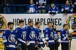 První kolo kvalifikace o WSM ligu ledního hokeje se odehrálo 5. dubna na zimním stadionu v Jablonci nad Nisou. Utkaly se týmy HC Vlci Jablonec nad Nisou a HC RT TORAX Poruba 2011.