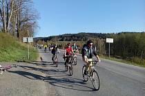 Cyklisté v Kunraticích