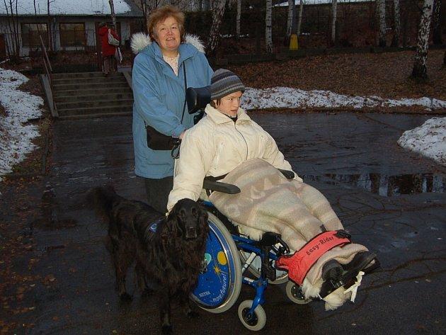 Zuzana Kratinová, matka postižené dcery