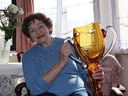 Operní pěvkyni a držitelku Ceny obce města Turnova Marcela Machotková ocenili za celoživotní mistrovství v oboru opera cenou Thálie.