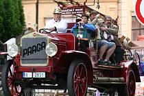 Historické hasičské stříkačky ozdobily třeba i Janovský jarmark