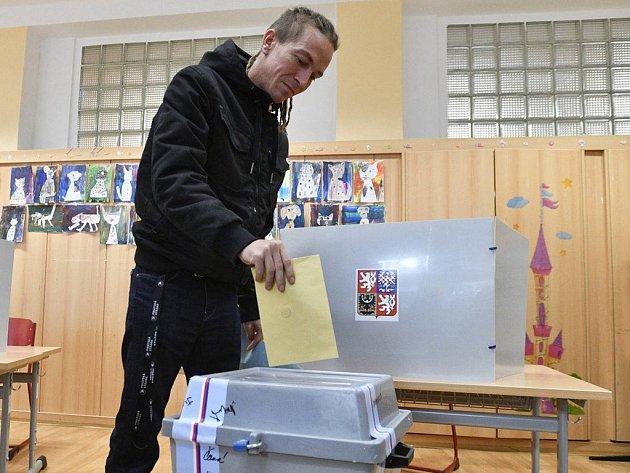 Předseda České pirátské strany Ivan Bartoš.