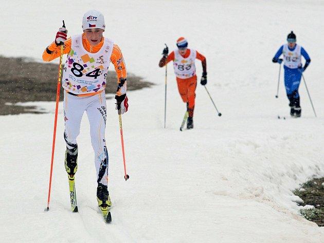 Sportovcům z Libereckého kraje se na ODM na Vysočině dařilo. Na snímku je lyžař Tomáš Dufek.
