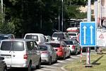 Ilustrační snímek. Dopravní kolona.