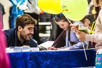 Zlatý olympionik v moderním pětiboji z roku 2012 David Svoboda navštívil Jablonec