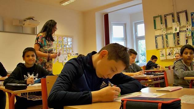 Stávka učitelů 6. listopadu 2019. Vyučování ve speciální Základní škole Liberecká 31 probíhalo ve středu 6. listopadu standardně.