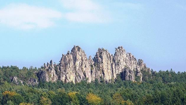 Suché skály na Maloskalsku.