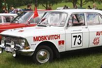 Moskvič - další z klenotů mezi automobily socialistické éry. Dost možná, že i tento stroj bude možné v Huti v sobotu obdivovat.