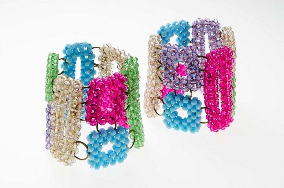 Náramky, Bracelets, design a výroba, realization Jablonex Group.