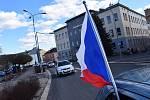 Jízda za svobodu na Jablonecku.