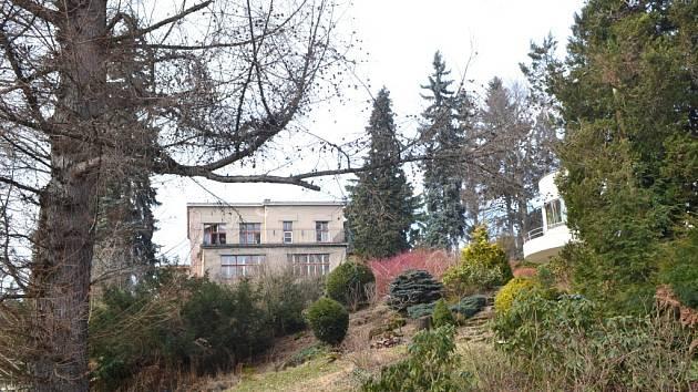 Vedle prodávané budovy stojí dům jeho bratra, Jaroslava Háska. Oba domy, nazývané jako Háskovy vily, tvoří ukázku tradicionalisticky orientované moderny a jsou považovány za jedny z nejhodnotnějších funkcionalistických vil na našem území.