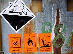 Toxické látky. Ilustrační snímek.