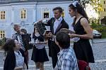 Cirkus nostalgie, ale také dílnu či výrobu dřevěné panny, to vše nabídla Muzejní noc 2017 v domě Josefa V. a Jany Schleybalových v Jablonci nad Nisou.