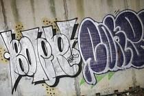 Grafitti. Ilustrační snímek.