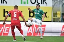 Fotbalisté Jablonce vyřadili v poháru Zbrojovku Brno. Na výhře 3:2 se gólem podílel Jovović.