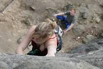 Horolezectví. Ilustrační snímek.