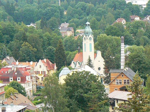 Starokatolický kostel na Náměstí Boženy Němcové v Jablonci nad Nisou