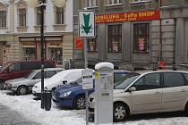 Parkování v Podhorské ulici