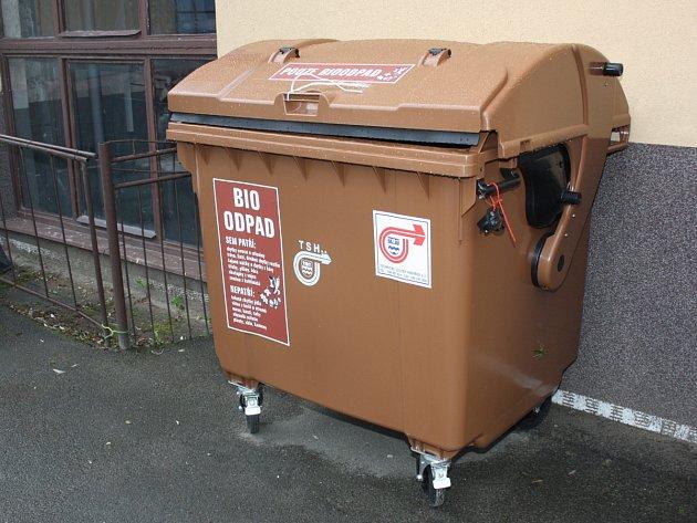 Kontejner na bioodpad - ilustrační snímek