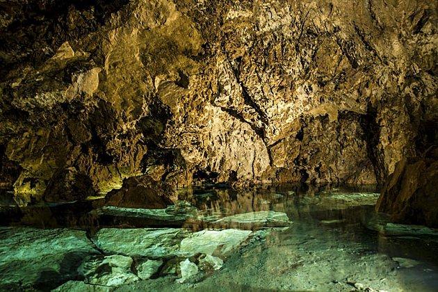 Bozkovské jeskyně.