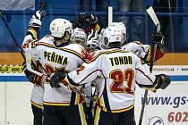 Hokejisté Jablonce vyhráli v Bílině a poskočili na deváté místo v tabulce.