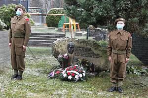 125 let od narození armádního generála Aloise Lišky. Malá Skála - Záborčí.