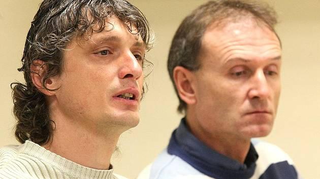 Asistent trenéra Josef Weber a sportovní ředitel FK BAUMIT Jablonec Petr Foldrman.