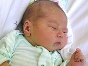 JONÁŠ CIDLINSKÝ se narodil Veronice a Janovi Cidlinským z Frýdštejna 13. 6. 2016. Měřil 50 cm a vážil 4270 g.