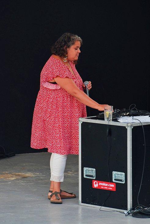 Ridina Ahmed v Jablonci nad Nisou.