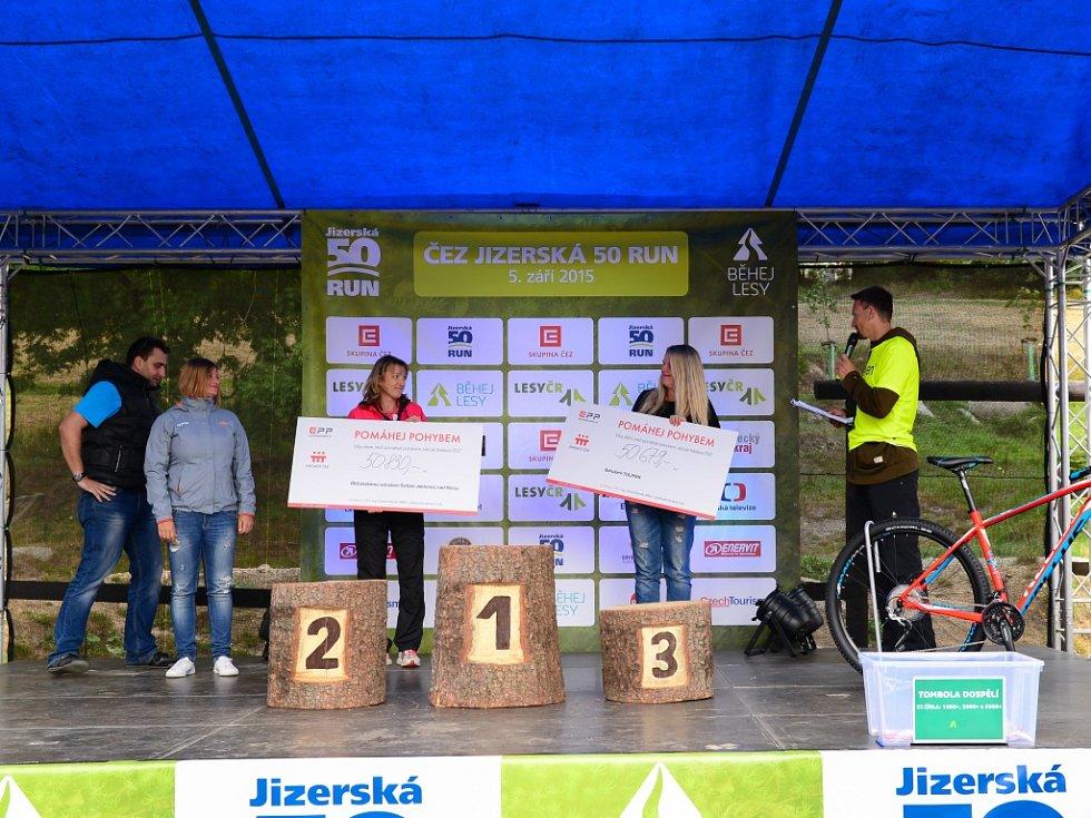 Druhý ročník ČEZ Jizerská 50 RUN přilákala 1 251 závodníků.