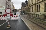 Křižovatka ulic Poštovní a Budovatelů bude ještě průjezdná, poslední den přišlo odvolání proti rozhodnutí o stavebním povolení.