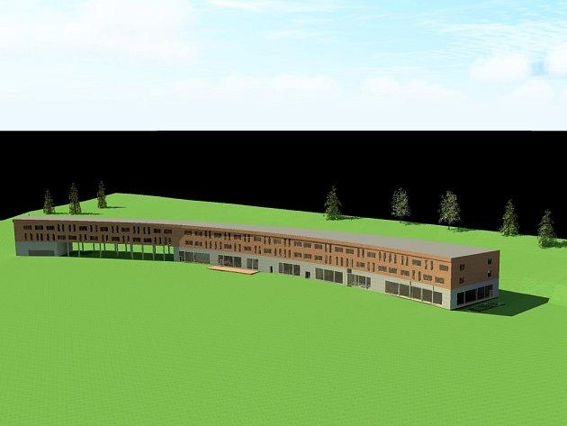 Takto vypadá úspěšný návrh hotelu studentky TUL Terezy Musilové.