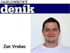 Redaktor Jabloneckého deníku Jan Vrabec