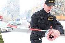 Policejní zásah. Ilustrační snímek.