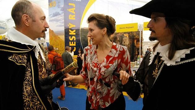 Sdružení Český ráj z v pořadí sedmnáctého veletrhu cestovního ruchu Holiday World 2008