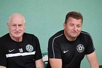 trenér Bryscejn, Josef Hnídek (vpravo)