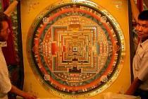 Nepál – země tibetské thangky.