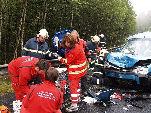 Za posledních pět let zemřelo při nehodách na Jablonecku 34 lidí, 232 jich bylo těžce zraněno.