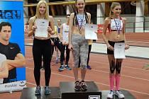 Adéla Novotná, úspěšná atletka TJ LIAZ, naděje královny sportu
