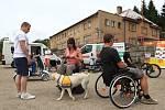 V pátek 13. června se ve Sportovním areálu v Janově nad Nisou u Sokolovny uskutečnilo regionální setkání vozíčkářů.