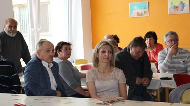 Setkání s občany. Ilustrační snímek.