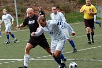 Fotbalové utkání I.A třídy, ve kterém Ruprechtice podlehly Lučanům 0:3 (0:0).