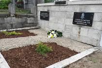 Obnovený hrob rodiny Weiskopfových.