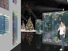 Plánovaná přístavba Muzea skla a bižuterie