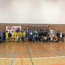Už třetí ročník halového fotbalového turnaje Denso Cup Junior připravil tým Doubí pro další fotbalové oddíly v železnobrodské sportovní hale.