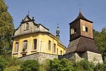 Kostel svatého Jakuba Většího v Železném Brodě.